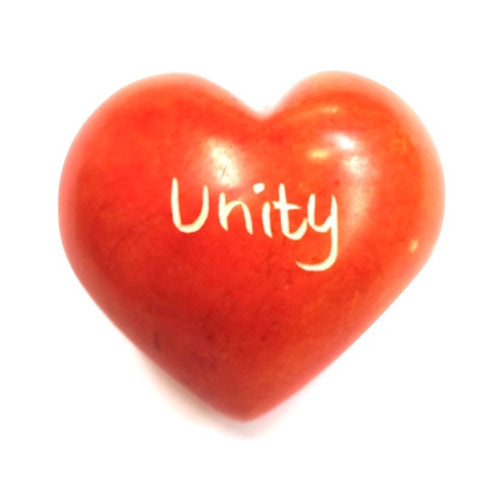 Unity Word Heart - Kenya