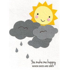 """You Make Me Happy"" Card - Rwanda"