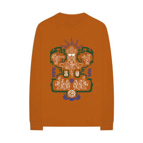 Gold Mandala Long Sleeve T-Shirt