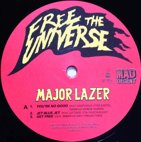 Free The Universe 2LP