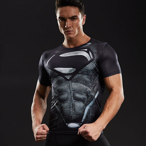 Awesome 3D-printed Tee Men's Compression Shirt for Fitness, Gym, Bodybuilding, Casual, Crossfit, Cosplay