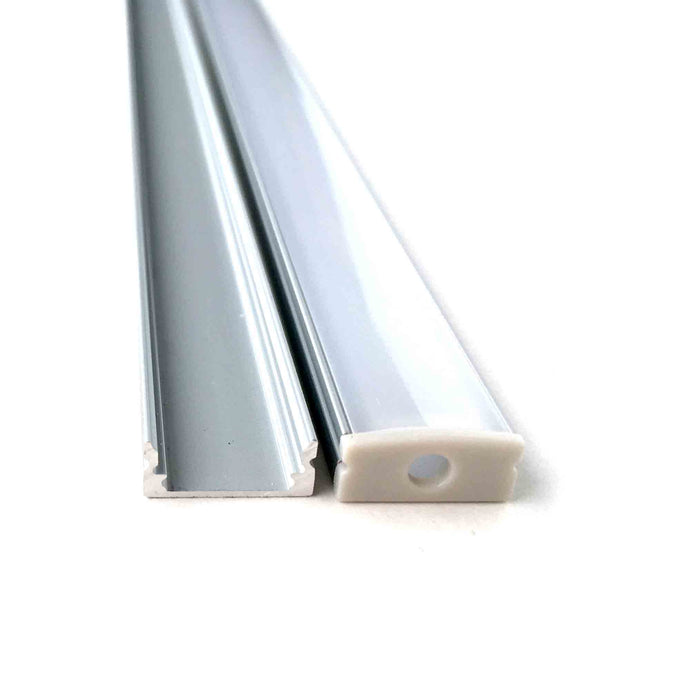 Aluminum Channel for LED Strip - 5 PACK