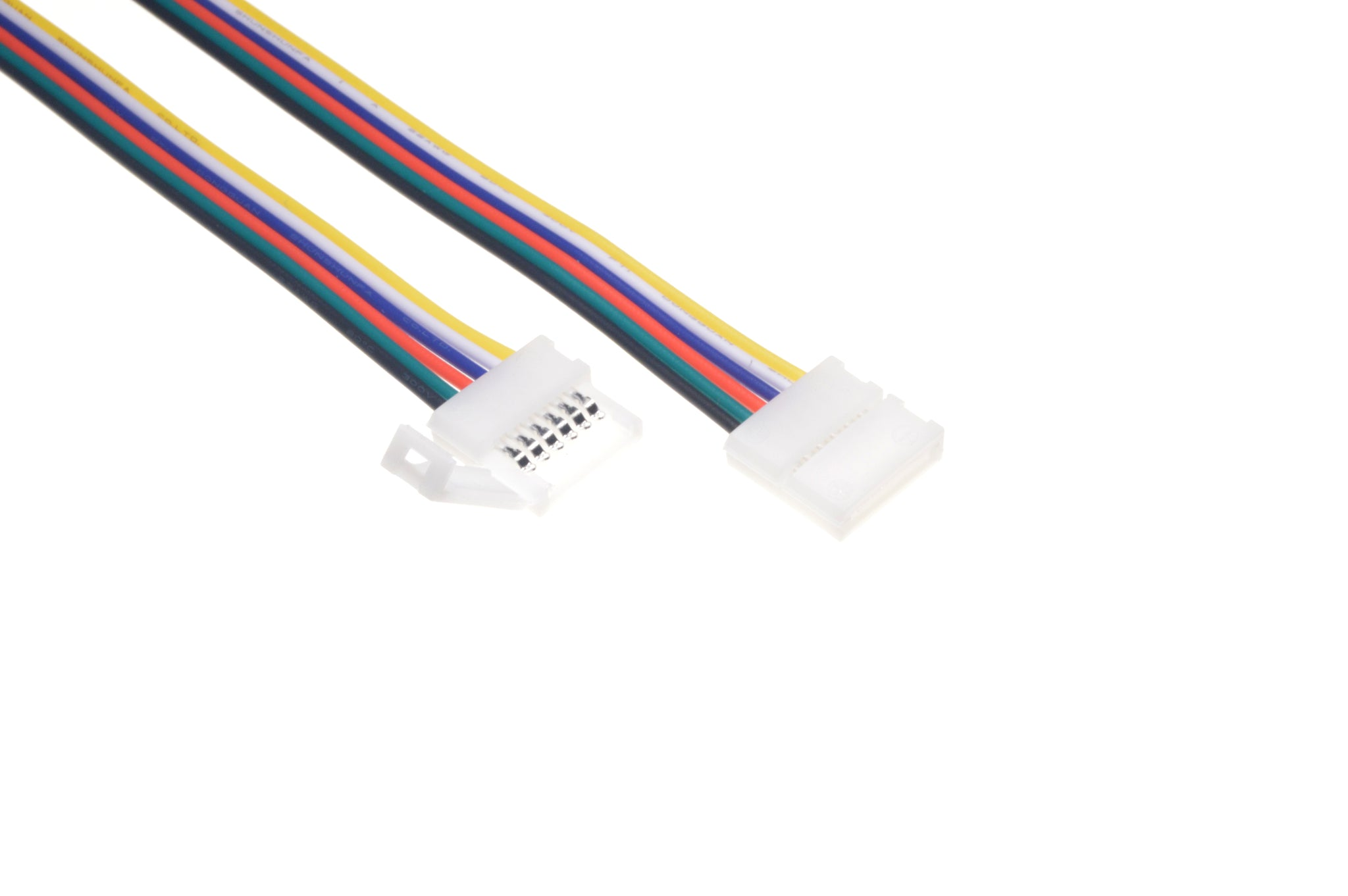 Led Strip To Wire Solderless Connector For 5 In 1 Wiring Pn 3075 Cable