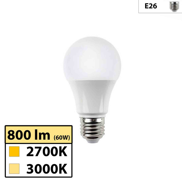 Ultra High 95 CRI E26 A19 10W LED Bulb for Home & Residential