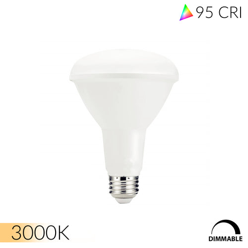 Ultra High 95 CRI E26 BR30 LED Bulb for Home & Residential