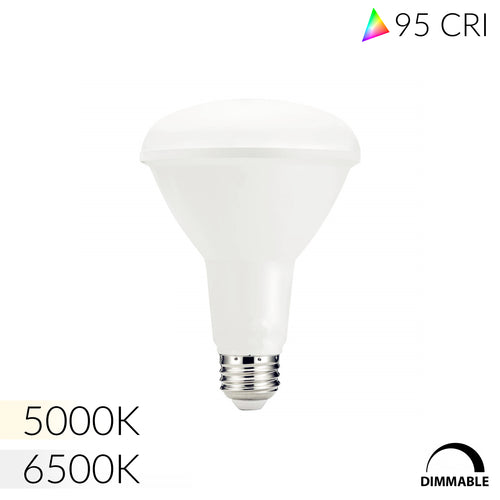 NorthLux™ 95 CRI BR30 LED Bulb for Artwork & Studio