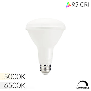 NorthLux™ 95 CRI 6500K BR30 LED Bulb for Artwork & Studio