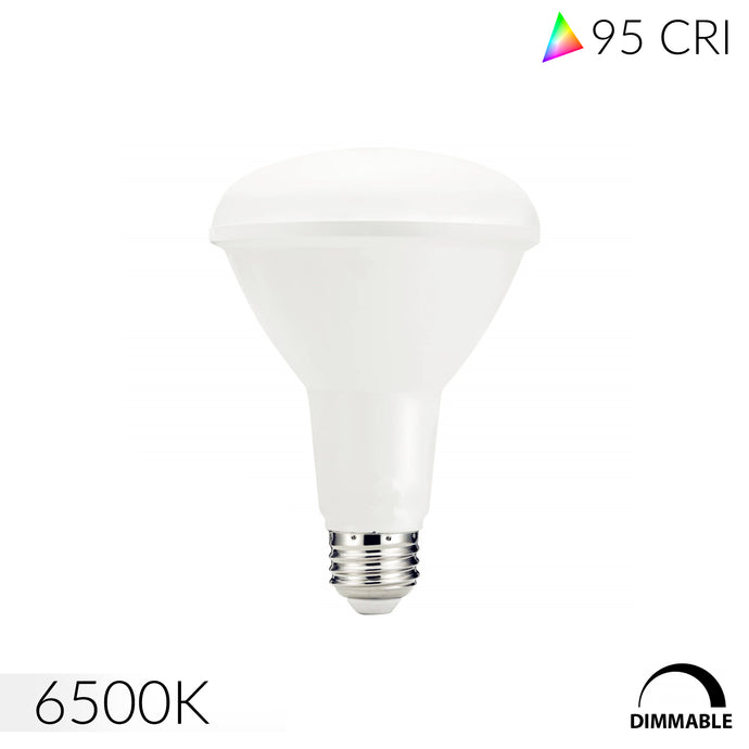 Ultra High 95 CRI 6500K E26 BR30 LED Bulb for Jewelry & Display