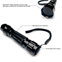 realUV™ LED Flashlight with BLACKOUT™ Filter Technology