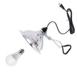 Clip-On Lamp Fixture for NorthLux A19 Bulb