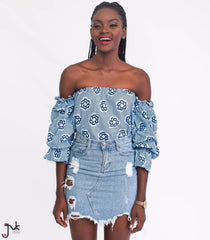 7fb9eafb57b Yaa Baby Off Shoulder Top | Trendy African wear for women – JVK Clothing