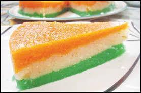 Tiranga Halwa or Tri Color Halwa
