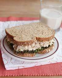 Toasted Tuna Sandwich