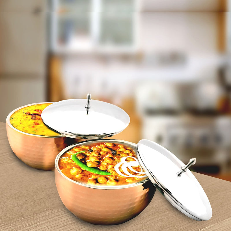 2 PCS Serving Bowls with Lid - Glory