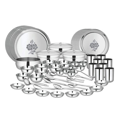 JAGDAMBA CUTLERY LIMITED Dinner Set 98 PCS Dinner set (8 People) - Glory