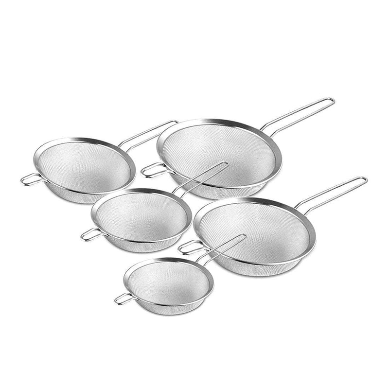 JAGDAMBA CUTLERY LIMITED Combo Strainer Set of 5