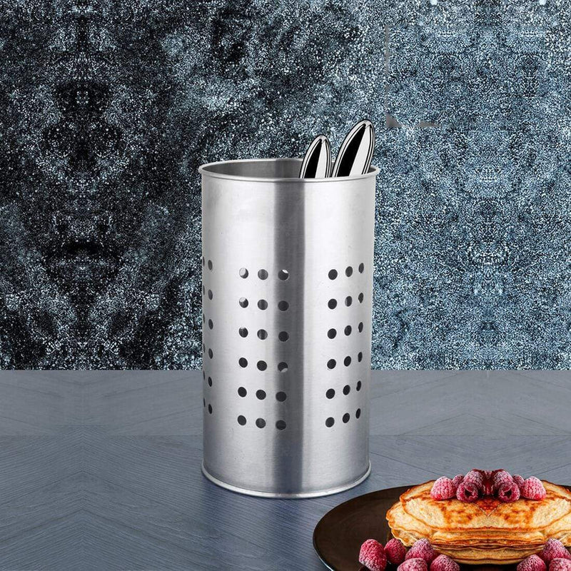 JAGDAMBA CUTLERY LIMITED Daily Needs 2 PCS Utensil Holder Round Hole