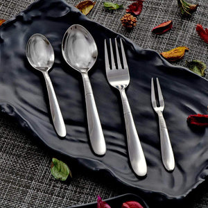 Jagdamba Cutlery Pvt Ltd. Cutlery 24 PCS Cutlery Set - Hong Kong Ring