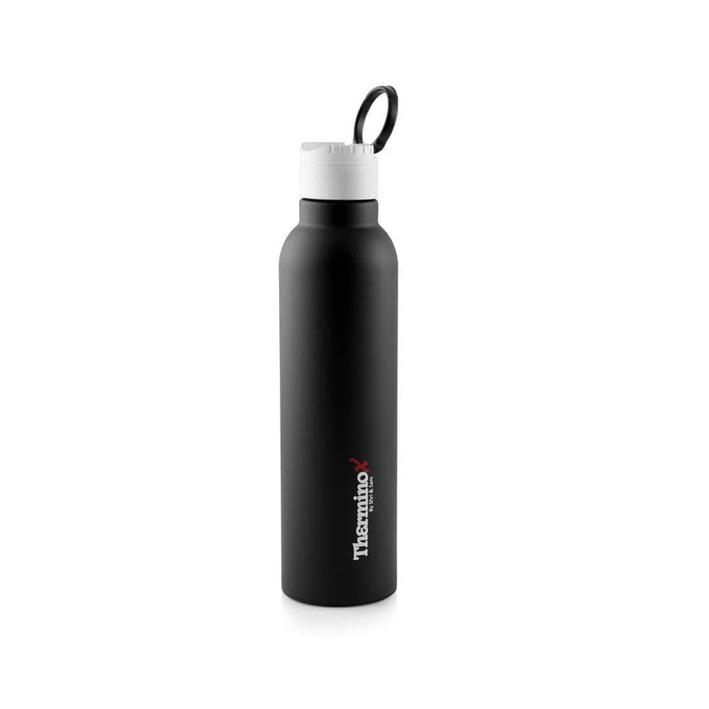 Jagdamba Cutlery Pvt Ltd. Daily Needs BLACK Therminox Vacuum Insulated Bottle 1000 ML - Honor