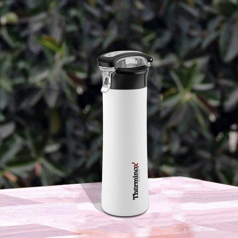 Jagdamba Cutlery Pvt Ltd. Daily Needs WHITE Therminox Vacuum Insulated Bottle 1000 ML - Chaser