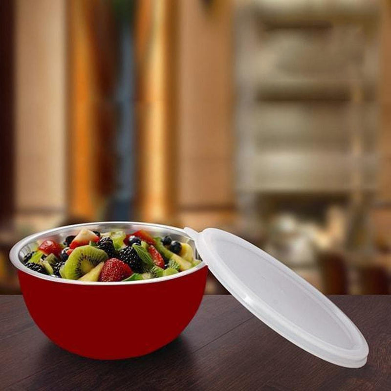 Jagdamba Cutlery Pvt Ltd. Serveware Bowl with Plastic Lid - Euro