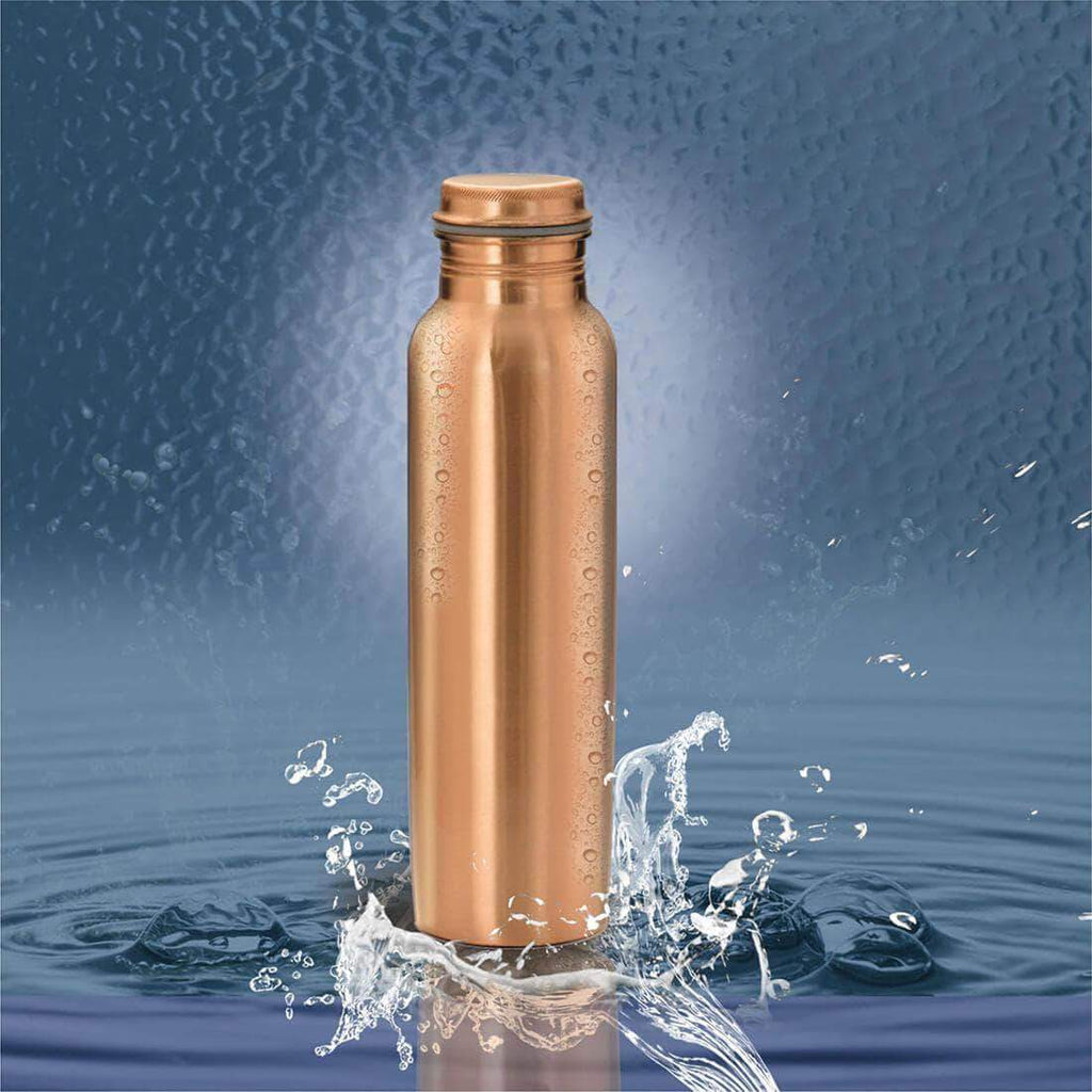 Jagdamba Cutlery Pvt Ltd. Serveware Copper Bottle Plain - Tamram