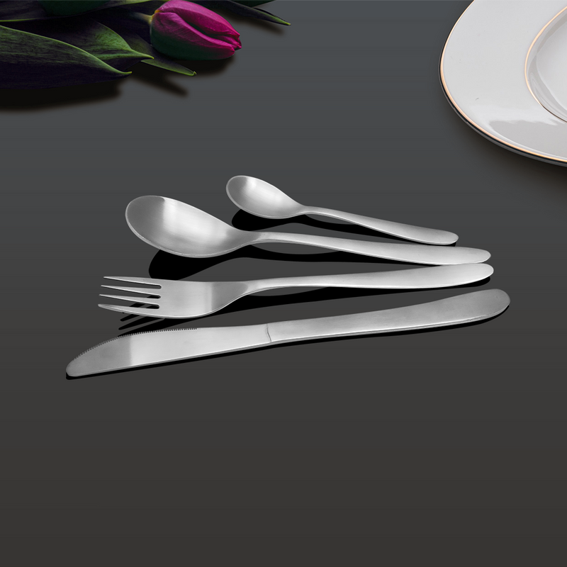 24 PCS Cutlery set- Sunflower