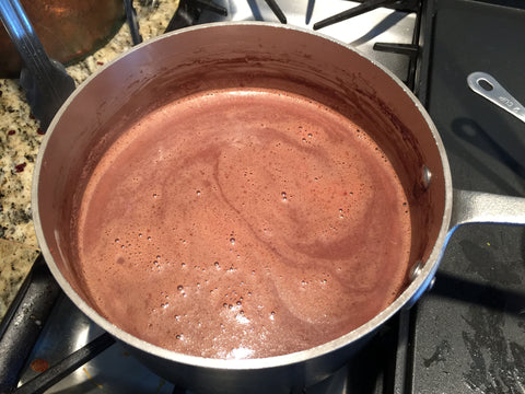 enmarie-hot-chocolate-warming-in -the-pot