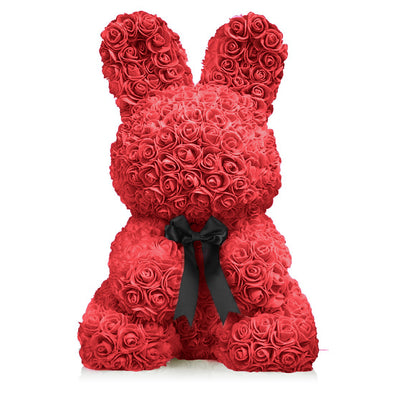 Rose Bunny - Red