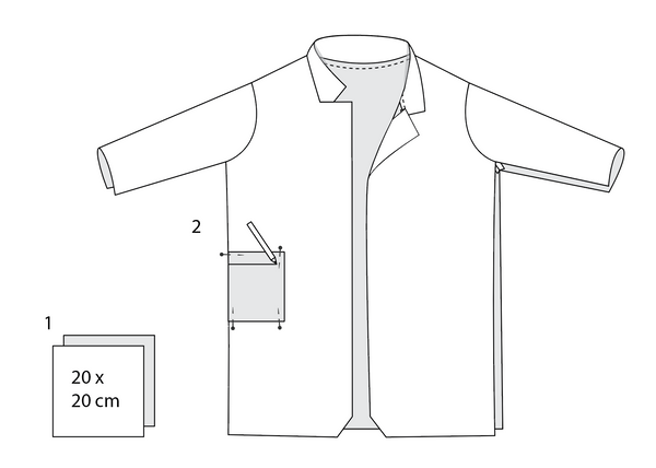 How to draw the pocket
