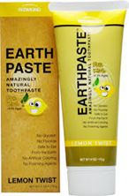 ET-lemon Earthpaste Toothpaste - lemon twist