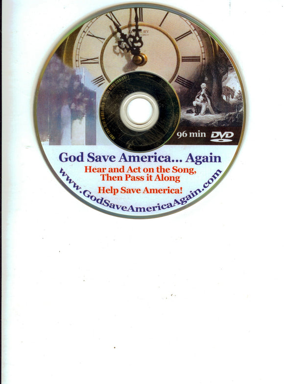 M-9 God Save America Again Music DVD