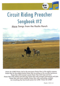 BR-012 - Circuit Riding Preacher Songbook #2 & 4 CDs