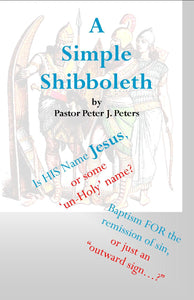 PS-035 - A Simple Shibboleth