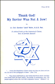 B-094 - Thank God! My Savior was Not a Jew!