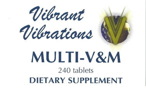Multi-Vitamin and Mineral  240 count