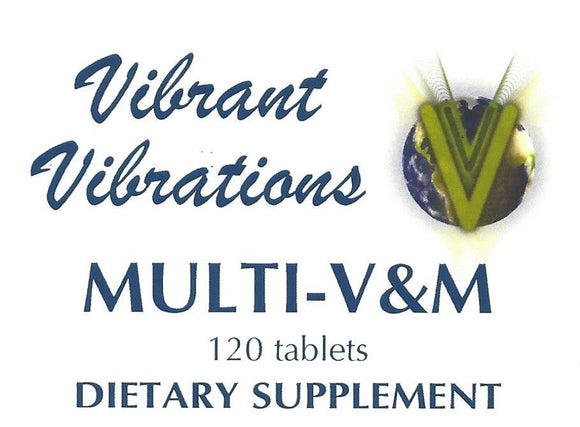 Multi-Vitamin and Mineral 120 count