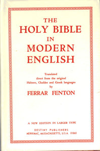 BR-001 - Holy Bible in Modern English