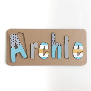 Personalised Name Puzzles