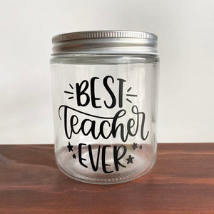 Teacher Gift Jars