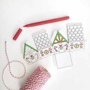3D Christmas Decoration Activity