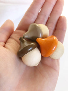 Mini Wooden Acorns