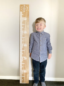 Height Chart #2 (Half Length)