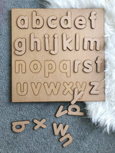 Alphabet boards