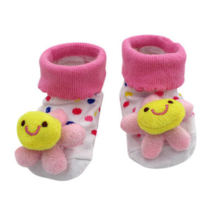 Cartoon Anti Slip Slipper Socks, multiple styles