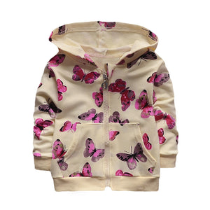 Butterfly Jacket Hoodie baby girl