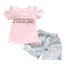 """Every Moment I Miss You"" Baby and Toddler 2 pc Set"