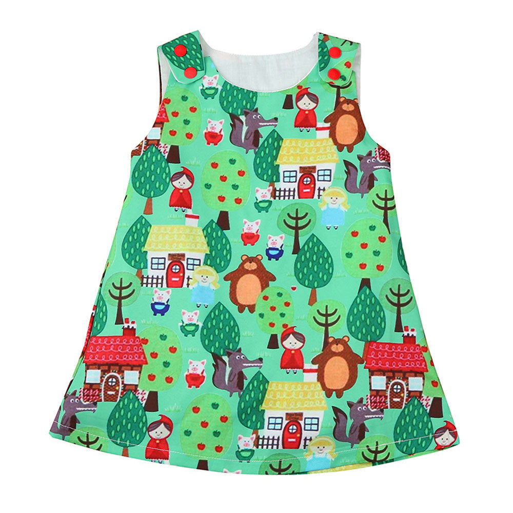 Woodlands Princess Sleeveless Dress