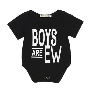 """Boys are Ew"" Romper"
