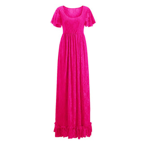 Maternity Summer Long Maxi Dress, multiple colors